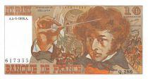 France 10 Francs Berlioz - 04-03-1976 Serial Q.286 - AU