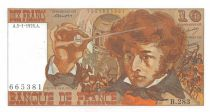 France 10 Francs Berlioz - 05-01-1976 Serial B.283 - XF