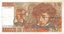 France 10 Francs Berlioz - 05-01-1976 Serial G.285 - F+