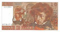 France 10 Francs Berlioz - 05-01-1976 Serial H.283 - XF