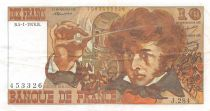 France 10 Francs Berlioz - 05-01-1976 Serial J.284 - F to VF
