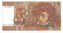 France 10 Francs Berlioz - 05-01-1976 Serial V.285 - XF to AU