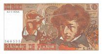 France 10 Francs Berlioz - 05-01-1976 Serial X.284 - XF