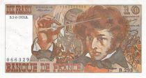 France 10 Francs Berlioz - 05-08-1976 Serial B.293 - VF
