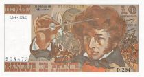 France 10 Francs Berlioz - 05-08-1976 Serial D.294 - XF