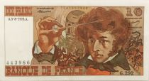 France 10 Francs Berlioz - 05-08-1976 Serial G.292 - VF+