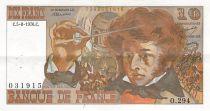 France 10 Francs Berlioz - 05-08-1976 Serial O.294 - VF+
