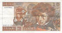 France 10 Francs Berlioz - 05-08-1976 Série M.292 - PTTB