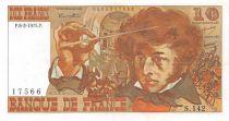 France 10 Francs Berlioz - 06-02-1975 Serial S.142 - XF
