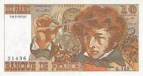 France 10 Francs Berlioz - 06-02-1975 Série Q.142 - SPL