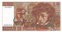 France 10 Francs Berlioz - 06-03-1975 Série X.169 - SPL