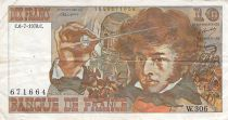 France 10 Francs Berlioz - 06-07-1978 Serial W.306 - F