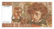 France 10 Francs Berlioz - 06-12-1973 Serial G.13