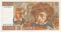 France 10 Francs Berlioz - 06-12-1973 Serial H.11 - VF