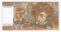 France 10 Francs Berlioz - 06-12-1973 Serial K.11 - XF+