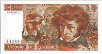 France 10 Francs Berlioz - 06-12-1973 Serial Y.13