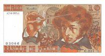 France 10 Francs Berlioz - 07-08-1975 Serial C.217 - aUNC