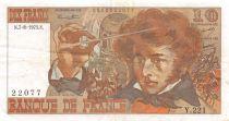 France 10 Francs Berlioz - 07-08-1975 Serial Y.221 - VF