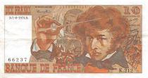 France 10 Francs Berlioz - 07-08-1975 Série K.212 - PTTB