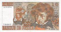 France 10 Francs Berlioz - 07-08-1975 Série P.224 - PTTB