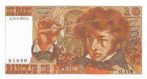 France 10 Francs Berlioz - 15-05-1975 Serial O.179 - aUNC