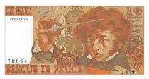 France 10 Francs Berlioz - 15-05-1975 Serial Q.179 - UNC