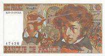 France 10 Francs Berlioz - 23-11-1972 - Serial J.2