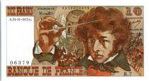 France 10 Francs Berlioz - 23-11-1972 Serial R.7