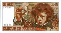 France 10 Francs Berlioz - 23-11-1972 Serial X.7