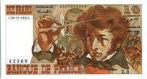 France 10 Francs Berlioz - 23-11-1972 Serial Z.3
