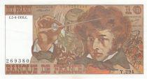 France 10 Francs Berlioz - SUP  - séries et dates variées