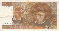 France 10 Francs Berlioz - Various Years 1972-1978 - F to F+