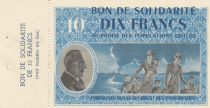 France 10 Francs Bon de Solidarité - 1941-1942