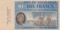 France 10 Francs Bon de Solidarité - 1941-1942