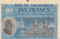France 10 Francs Bon de Solidarité - 1941-1942 sans série