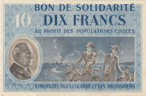 France 10 Francs Bon de Solidarité - 1941-1942 Serial A - WWII