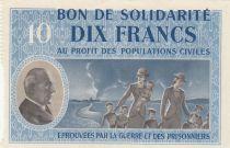 France 10 Francs Bon de Solidarité - 1941-1942 Série B