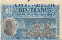 France 10 Francs Bon de Solidarité - 1941-1942 without serial - WWII