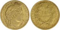 France 10 Francs Cérès - IIème République 1850 A Paris