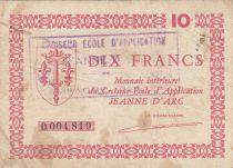 France 10 Francs Croiseur Ecole Jeanne d\'Arc - 1947