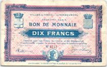 France 10 Francs Croix-Wasquehal City
