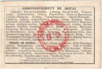 France 10 Francs Douai City - 1916