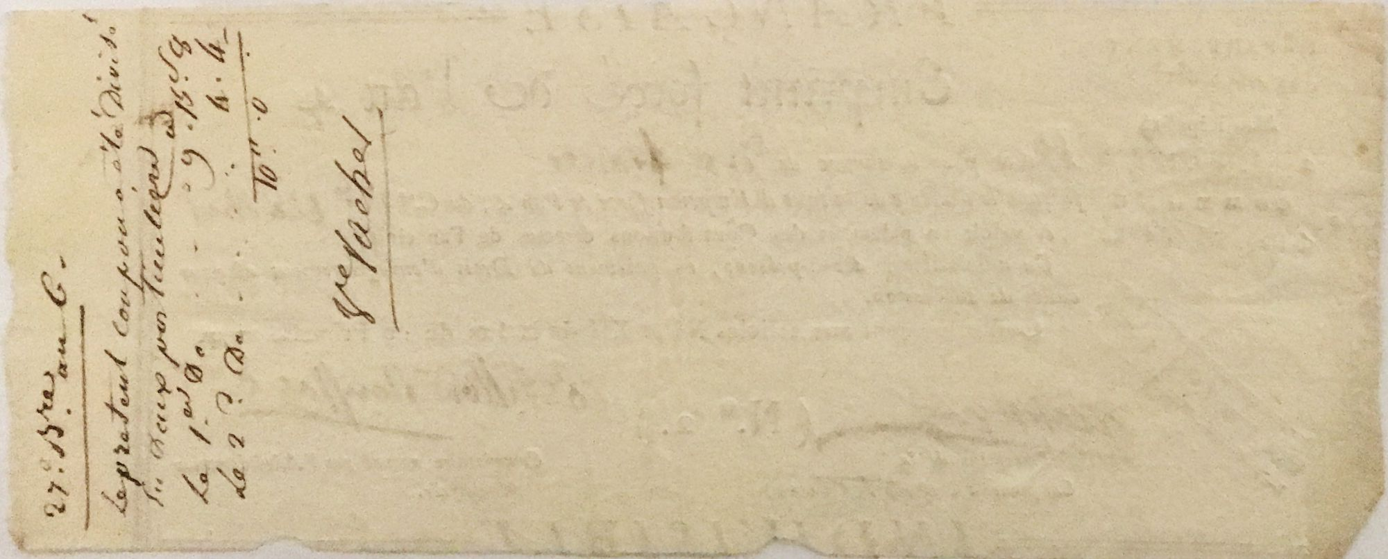 France 10 Francs Emprunt Forcé - An 4 (1796) - Gard - Saint-Ambroix - Castillon - TTB+