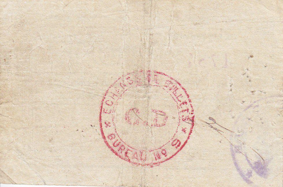 France 10 Francs Erre City - 1915