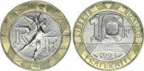 France 10 Francs Génie - 1993 frappe Médaille