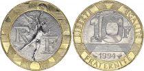 France 10 Francs Génie - 1994 frappe abeille FDC