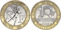France 10 Francs Génie - 1996 - FDC