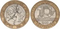 France 10 Francs Génie (années variées 1988-2000)