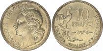France 10 Francs Guiraud - 1954