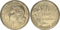 France 10 Francs Guiraud - 1954